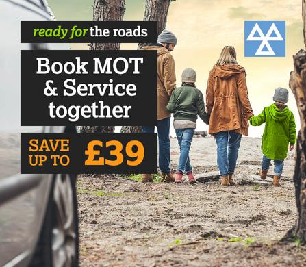 Book MOT and Service Together